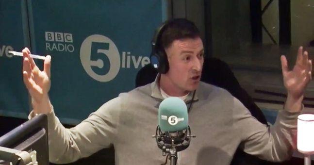 Chris Sutton got into a heated Arsene Wenger debate on BBC radio
