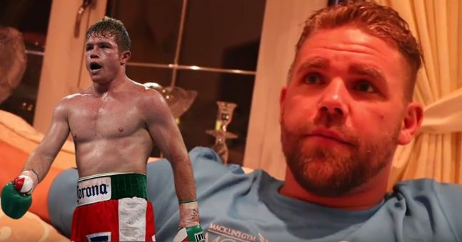 """Billy Joe Saunders on 'Canelo' Alvarez - """"A little ginger f****t, that's what he is!"""""""
