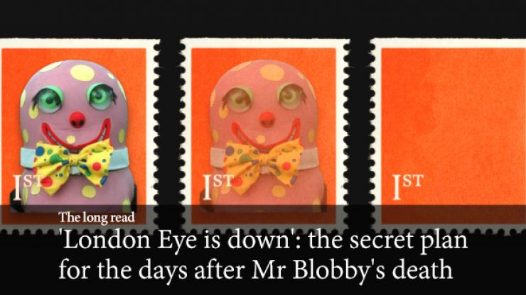 'London Eye is down': the secret plan for the days after Mr. Blobby's death