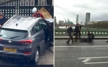 Reports that a car on Westminster Bridge 'has mowed down at least 5 people'