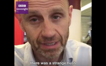 BBC journalist gives eye-witness account of Westminster incident