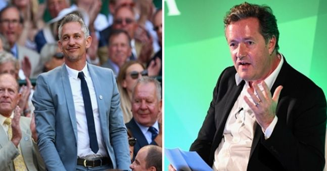Gary Lineker raises the stakes after Piers Morgan makes Red Nose Day pledge