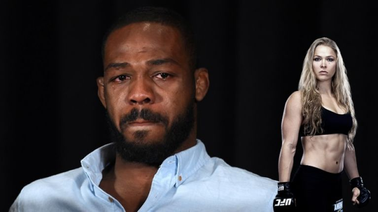 Jon Jones has a bit of advice for Ronda Rousey after UFC 207 beating