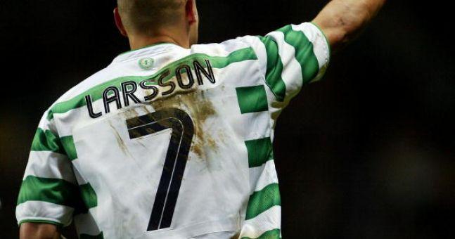 Henrik Larsson reassures Celtic fans his son would never sign for Rangers