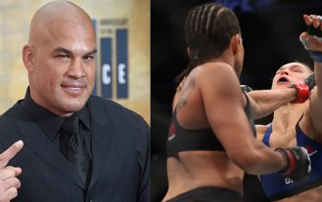 Tito Ortiz won a huge chunk of change betting on Amanda Nunes to beat Ronda Rousey