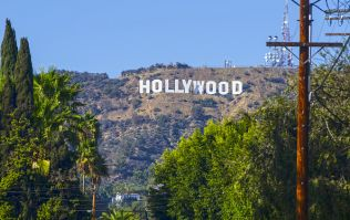 Someone changed the iconic Hollywood signs to say something very different