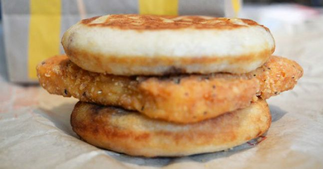 Stop everything because McDonald's has invented a chicken breakfast sandwich