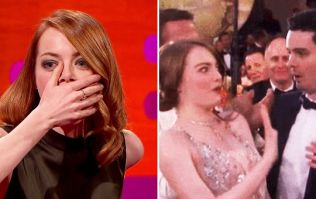 Everyone's dying inside for Emma Stone after this incredibly cringeworthy 'kiss' with director