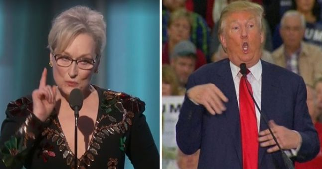 Watch Meryl Streep absolutely rip into Donald Trump during her passionate Golden Globes speech