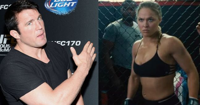Chael Sonnen gives brutally honest assessment of Ronda Rousey's chances in Hollywood