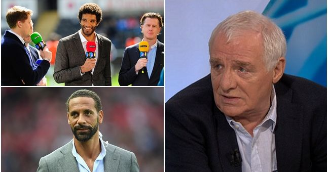 Eamon Dunphy slaughters the quality of football pundits on British TV in latest rant