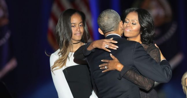 Sasha Obama had a very valid reason for missing her father's final presidential speech