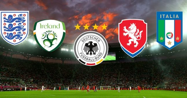 You simply won't get full marks in our international football crest quiz