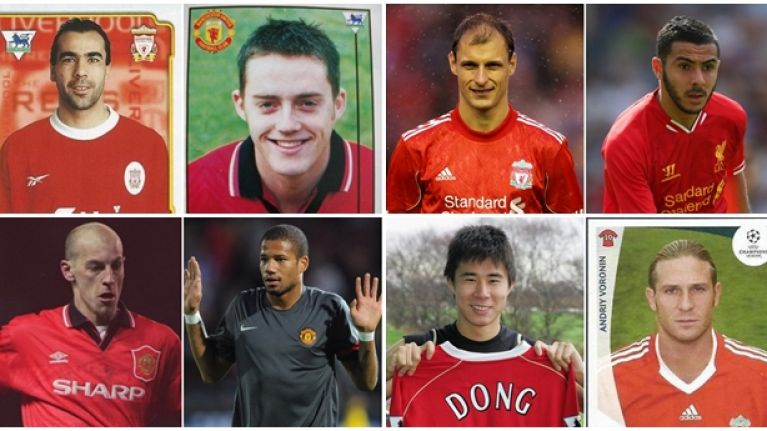 You won't get top marks in this quiz about obscure Man United and Liverpool players