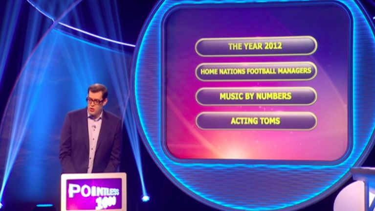 Pointless made a subtle but important change for its special 1,000th episode