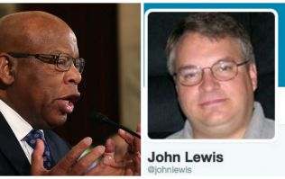 Donald Trump supporters are targeting the wrong John Lewis in Twitter attack