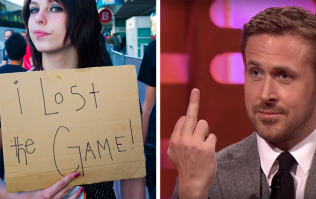 Remember 'The Game'? Well congratulations, you just lost it again