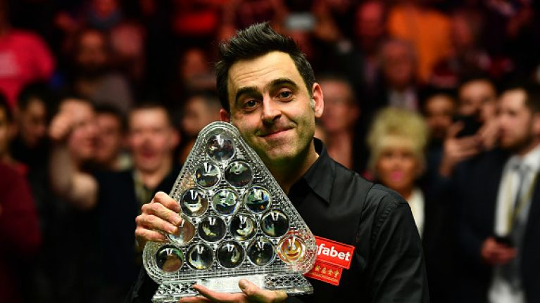Even at 41, Ronnie O'Sullivan is embracing new sporting adventures