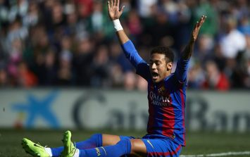 Neymar makes his opinion about Barcelona's ghost goal very clear on Instagram