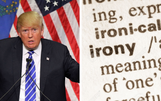People quickly picked up on the irony of Donald Trump's film choice over the weekend