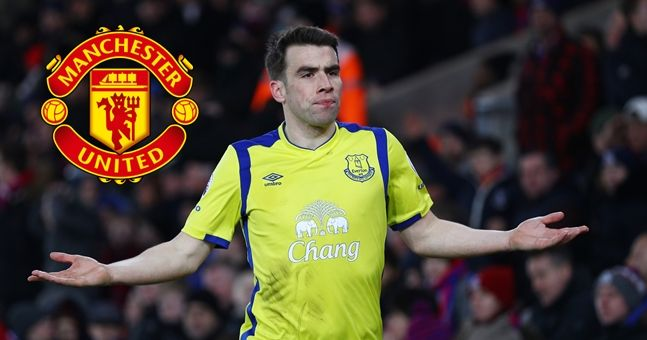 Seamus Coleman responds to rumours linking him with a move to Manchester United