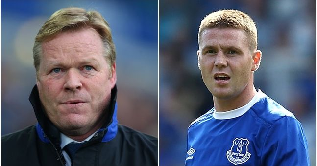 Koeman explains why Everton turned down big money transfer bid for James McCarthy