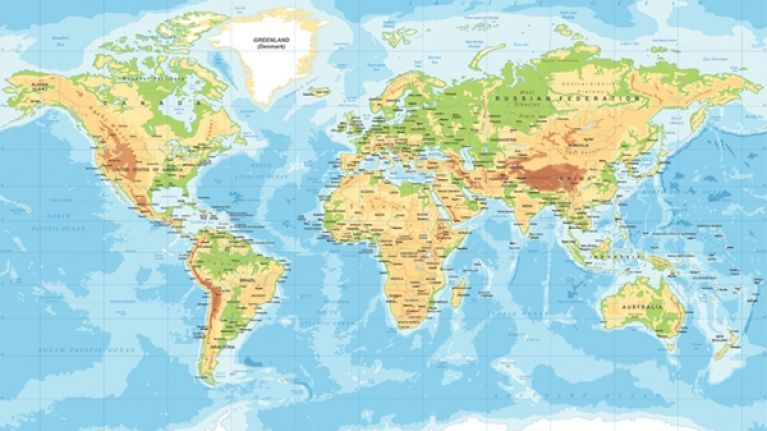 QUIZ Name The Largest Countries In The World In Terms Of Area - Countries of the world quiz