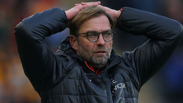 Not even a wretched run of form can stop Jürgen Klopp from dreaming