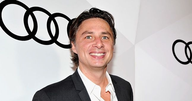 Everyone else give up now, nobody's beating Zach Braff's Valentine's Day message
