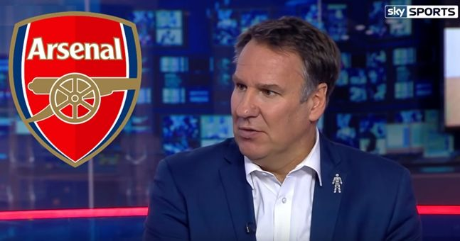 Paul Merson's warning for Arsenal actually makes perfect sense