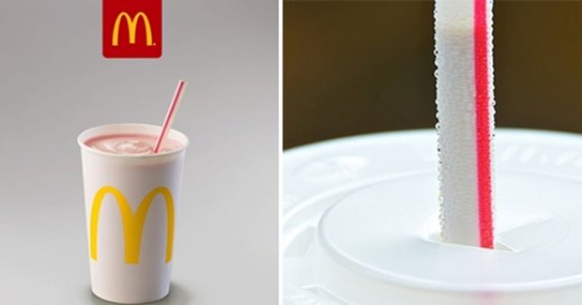 McDonald's are introducing a new straw
