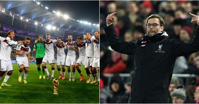 Jurgen Klopp is looking to reunite with World Cup winner at Liverpool