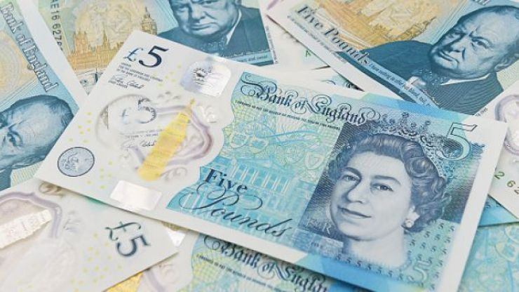 A very rare £5 note that's worth £50,000 has been discovered in Ireland