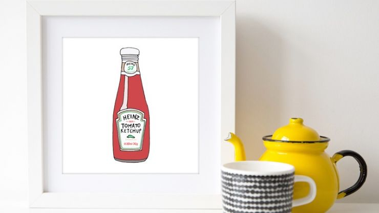 This is officially the best way to get the ketchup out of the bottle