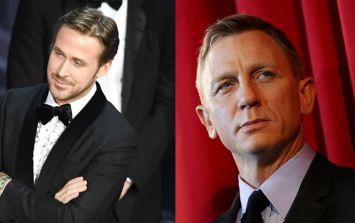 Odds of Ryan Gosling becoming the next James Bond cut following Oscars gaffe