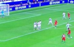 Portugal have a strong contender for the worst free kick routine ever done