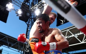 Manny Pacquiao was robbed of his WBO welterweight title overnight
