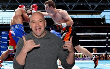 Dana White *really* enjoyed Jeff Horn's upset of Manny Pacquiao