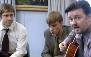 Ricky Gervais reveals inspiration for Brent, Tim and Gareth on The Office anniversary