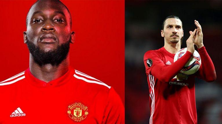 fdf5747de Romelu Lukaku reveals he asked Zlatan Ibrahimovic s permission before  choosing the number nine shirt at Man