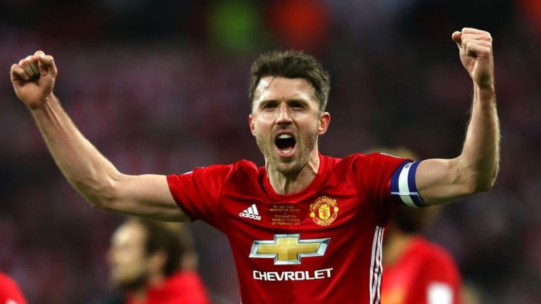 Image result for carrick captain manchester united