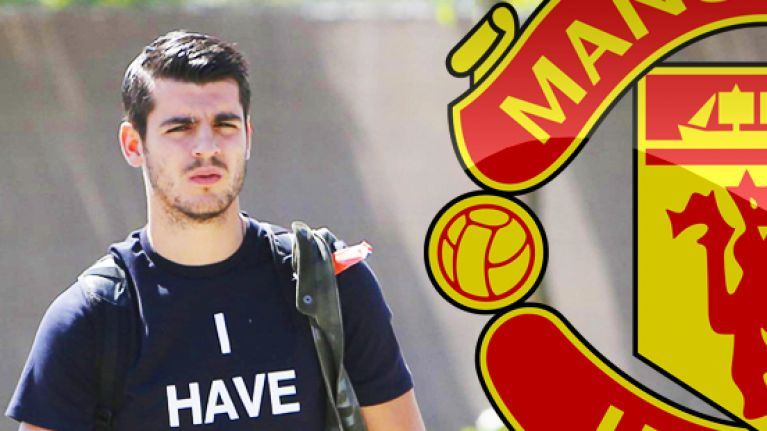Tragic images show how certain Alvaro Morata was that he'd be a Manchester United player