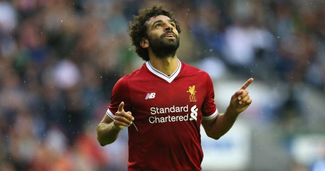 Image result for salah goal liverpool
