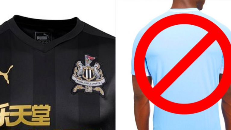 5c13ffea1 Newcastle fans pissed off with new away kit after the majestic beauty of  this black effort