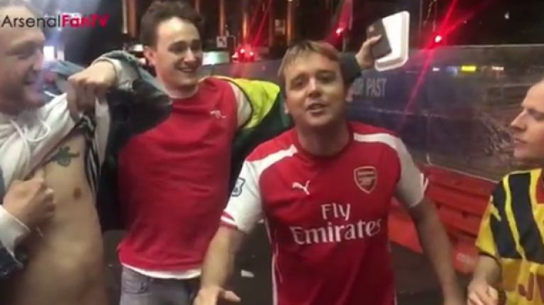 Arsenal Fan TV ask for thoughts on what could be the worst chant in the history of sport