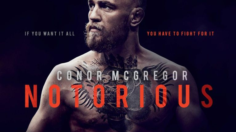 Universal announce that official Conor McGregor documentary is on its way