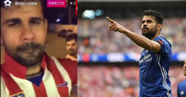 Diego Costa has a message for Antonio Conte as he all but confirms his Chelsea days are over
