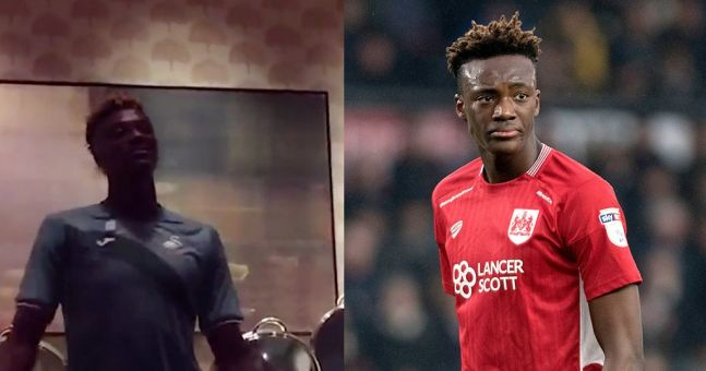 WATCH: Tammy Abraham wows new teammates with his initiation song