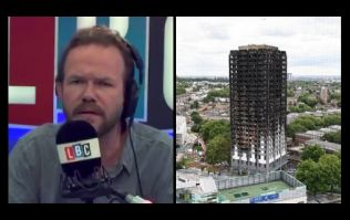 Watch: LBC's James O'Brien passionately defends his coverage of Grenfell tragedy