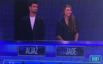 Celebrity contestant had a great response to very wrong answer on The Chase